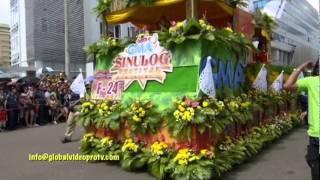 SINULOG FESTIVAL & GRAND PARADE, CEBU. PHILIPPINES. TRAVEL...