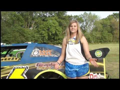 Emily Gade  KCRG 5812 Davenport Speedway