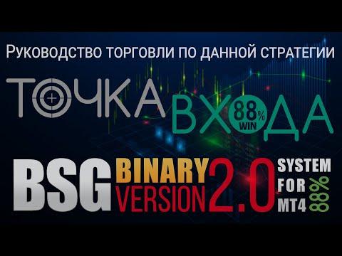 BSG BINARY V2.0 - Руководство торговли по данной стратегии