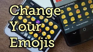 Replace Samsung's Emoji Icons with Apple iOS or Google Emoji [How-To] Video