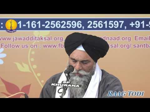 25th AGSS 2016: Raag Todi Bhai Randhir Singh Ji Hajoori Ragi Shri Darbar Sahib Asr