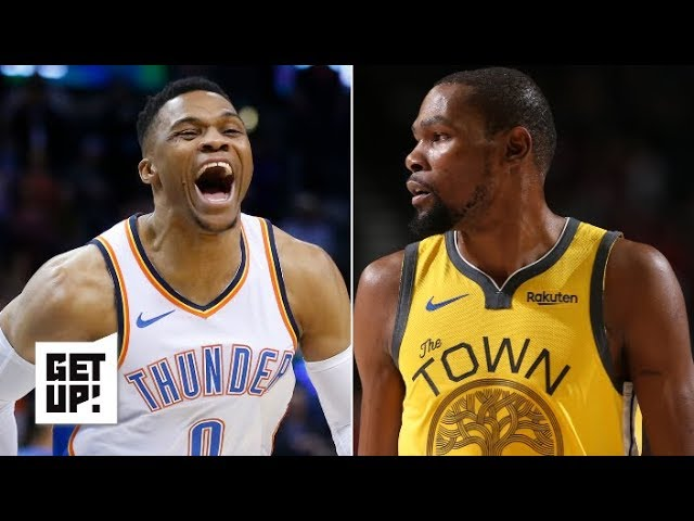 Are the Thunder the Warriors' biggest challenge to get back to the NBA Finals? | Get Up!