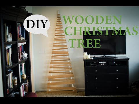 DIY Wooden Christmas Tree