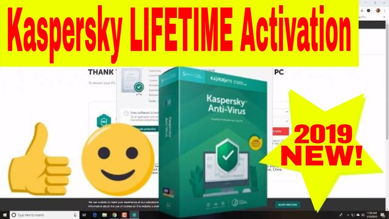 Kaspersky Internet Security 2019 LIFETIME Activation Code ...