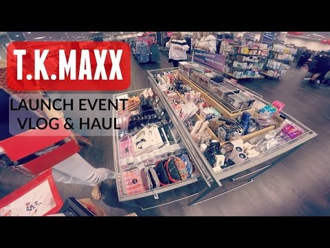 TKMAXX Launch Event Fun & Haul #AD
