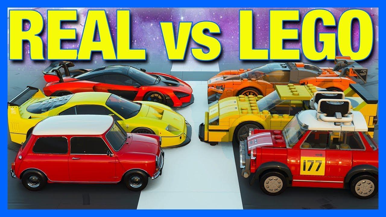 Forza Horizon 4 : LEGO vs REAL CARS!! thumbnail