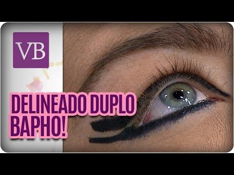 Delineado Duplo  - Você Bonita (12/04/16)