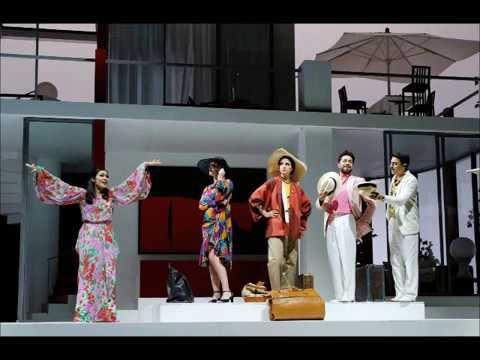 Rossini, La pietra del paragone - A.Wakizono, G.Margheri - D.Rustioni (ROF, 2017)