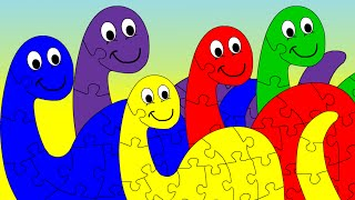 dinosaurs colors for children   dinosaurs the kids picture show educational learning videos