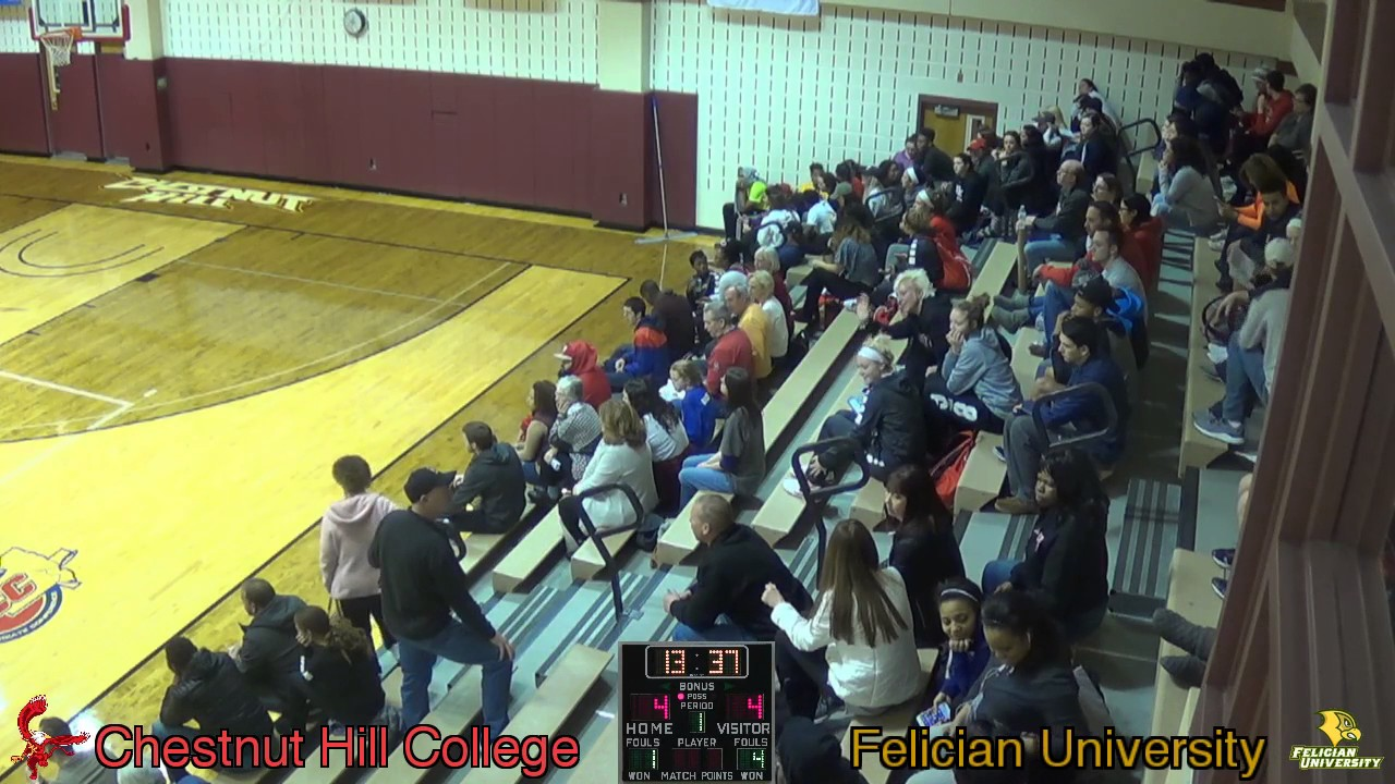 Men's Basketball - Chestnut Hill College vs Felician ...