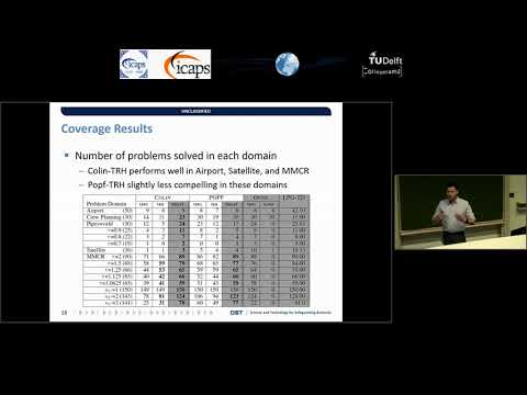 "ICAPS 2018: Tony Allard on ""A TIL-Relaxed Heuristic for Planning with Time Windows"""