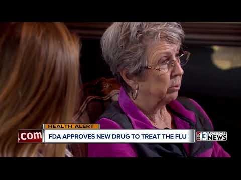 F.D.A. approves new drug for treatment of flu