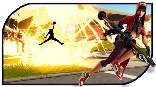 NEW JORDAN SKIN BLOWS THEM UP - Fortnite (GameStreak #26) - Daily Gaming Moments