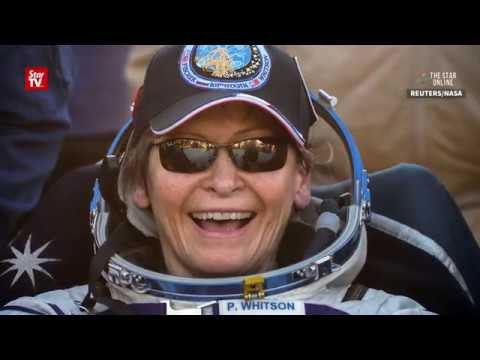 Astronaut Peggy Whitson returns to Earth after record breaking space mission