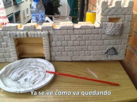Castillo medieval facil 1 youtube - Manualidades castillo medieval ...