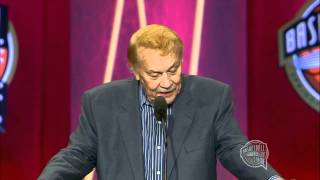 Jerry Buss' Basketball Hall of Fame Enshrinement Speech