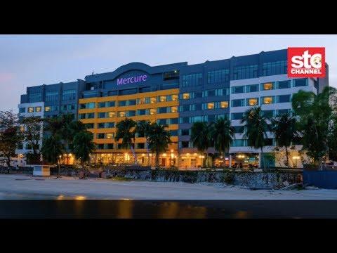 Selesa Bersantai Di Hotel Mercure Penang Beach