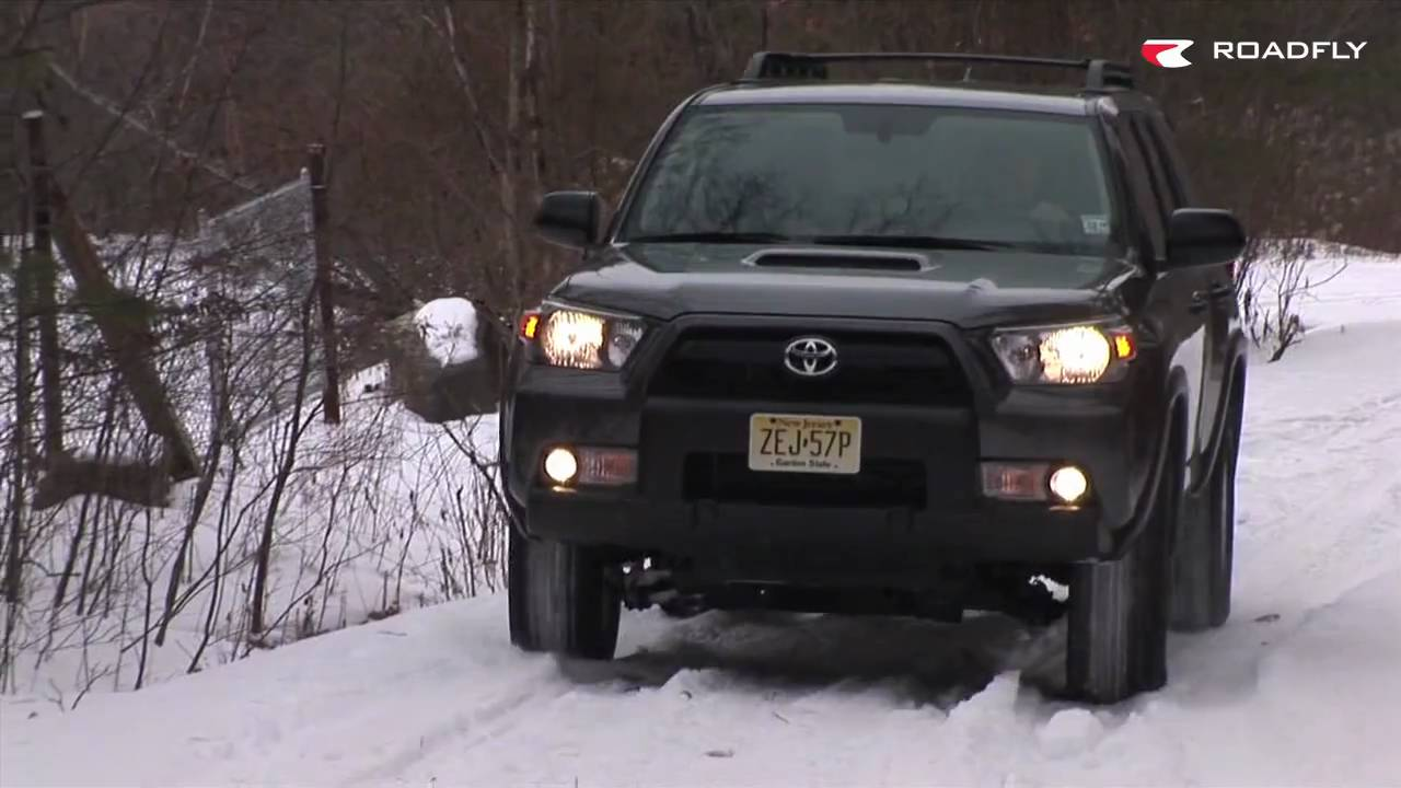 Roadfly.com   2010 Toyota 4Runner SUV Road Test U0026 Review   YouTube