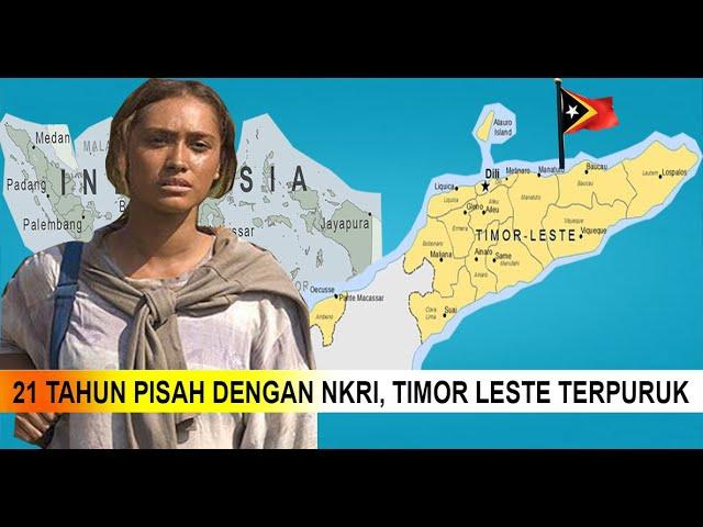 Jadi Negara Kere, Timor Leste Bulat Mau Gabung ke NKRI Lagi?