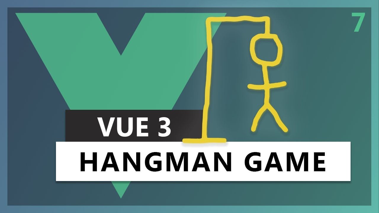 Building Traversy Media Hangman game in Vue 3 using the Composition API
