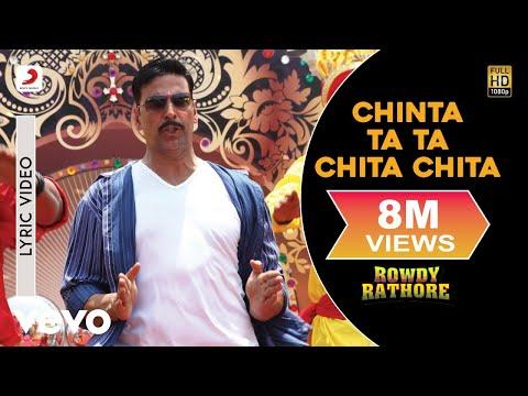 Chinta Ta Ta Chita Chita Lyric - Rowdy Rathore Akshay,Kareena Mika Singh Sajid Wajid