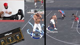 SCORED ALL 21 POINTS! REAL LIFE PARK CELEBRATIONS NBA 2k18 Playground