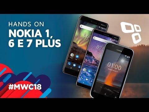 Os novos smartphones da Nokia - TecMundo [MWC 2018]