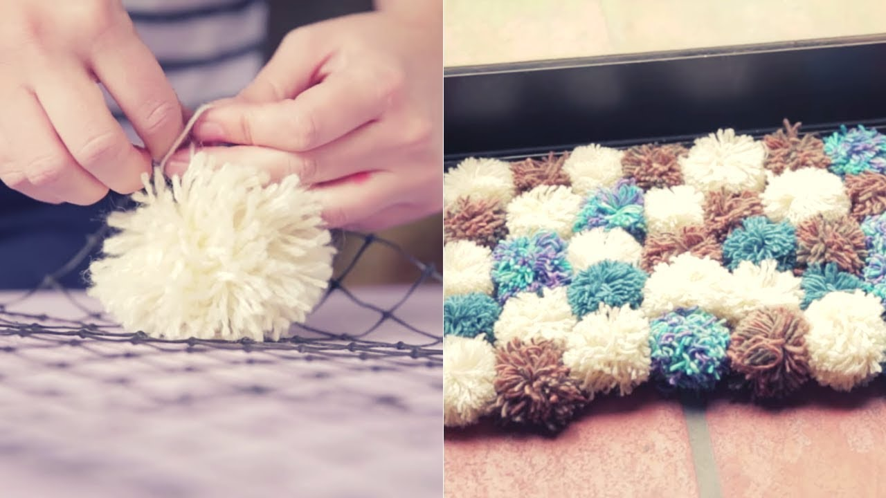 0b1bfd6f2527 Cómo hacer una alfombra de lana | manualidades con lana | iMujer Hogar