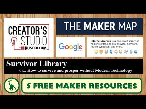 5 Free Maker and DIY Resources for Information and Inspiration