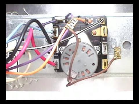 Timer motor Whirlpool 29 inch dryer  YouTube