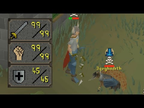 The Zerker with 99 Attack and Strength