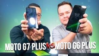 Moto G7 Plus vs G6 Plus - Comparação - SERÁ que VALE a PENA?