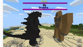 Minecraft Godzilla Vs King Kong