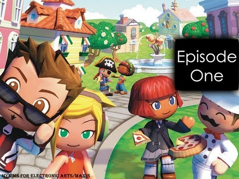 """MySims Let's Play: Episode-1 """"New Kid On The Block"""""""