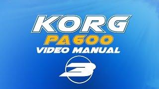 Korg Pa600 User Manual (російська) 3/7 - Стилів