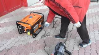 Генератор бензиновый Carver PPG-3900 и инвертор зубр зас-м3-140(Для покупки и просмотра характеристик, жми на ..., 2016-03-21T13:05:38.000Z)