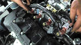 HOW THE INJECTORS WORKING IN NISSAN SUNNY N16 2015