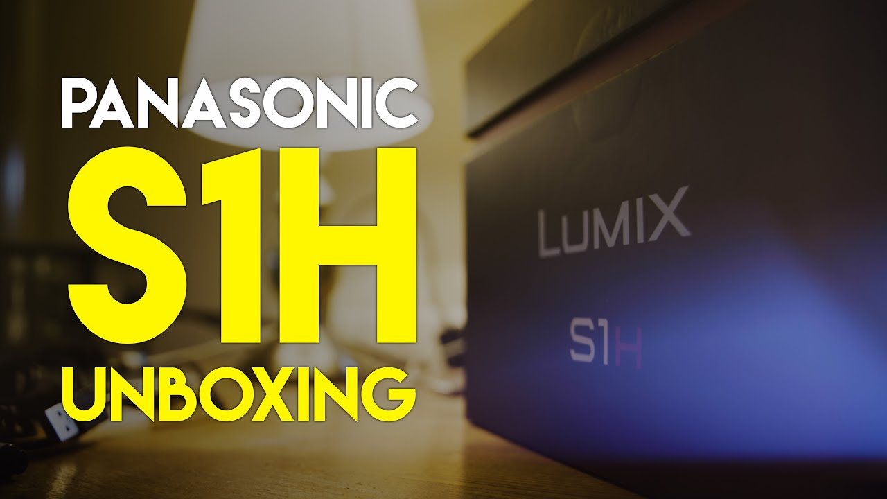 Is it REALLY That Heavy? Panasonic S1H Unboxing