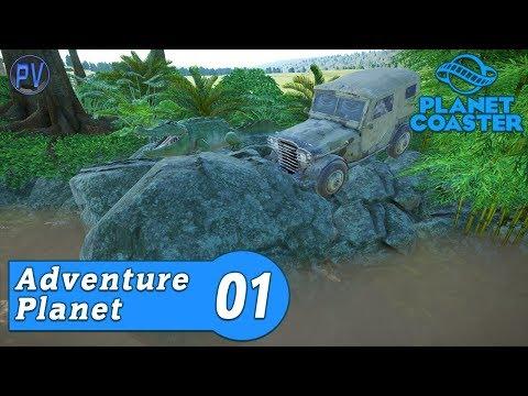Jungle Entrance! - Part 1   Adventure Planet - Episode 1   Planet Coaster