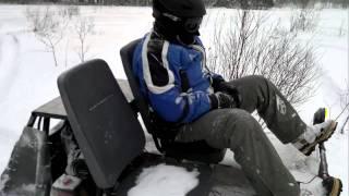 видео Гусеничный снегоход Bv-202