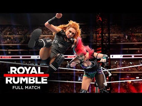 FULL MATCH - Becky Lynch vs. Asuka – Raw Women's Championship Match: Royal Rumble 2020