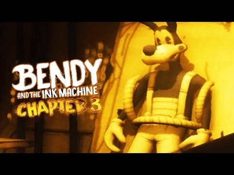 SECRET CHAPTER 4 TEASER! | Bendy and the Ink Machine CHAPTER 3 (ENDING)