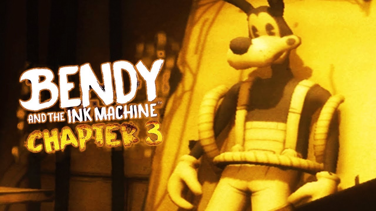 bendy and the ink machine chapter 3 trailer