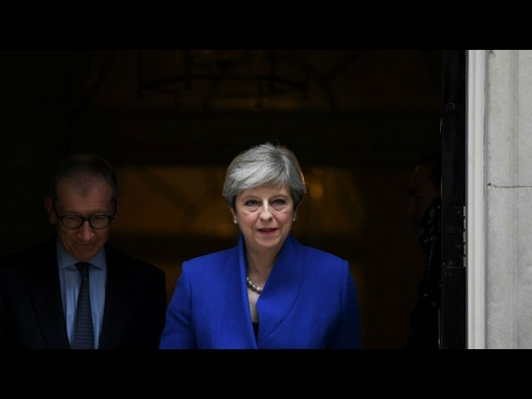 As it happened: PM May seeks queen's approval to form UK government