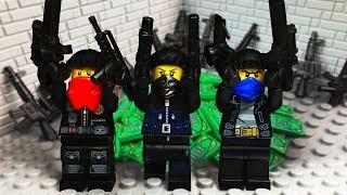 LEGO МУЛЬТИКИ про Полицию 💣 ПОЛИЦЕЙСКИЙ Спецназ против Грабителей
