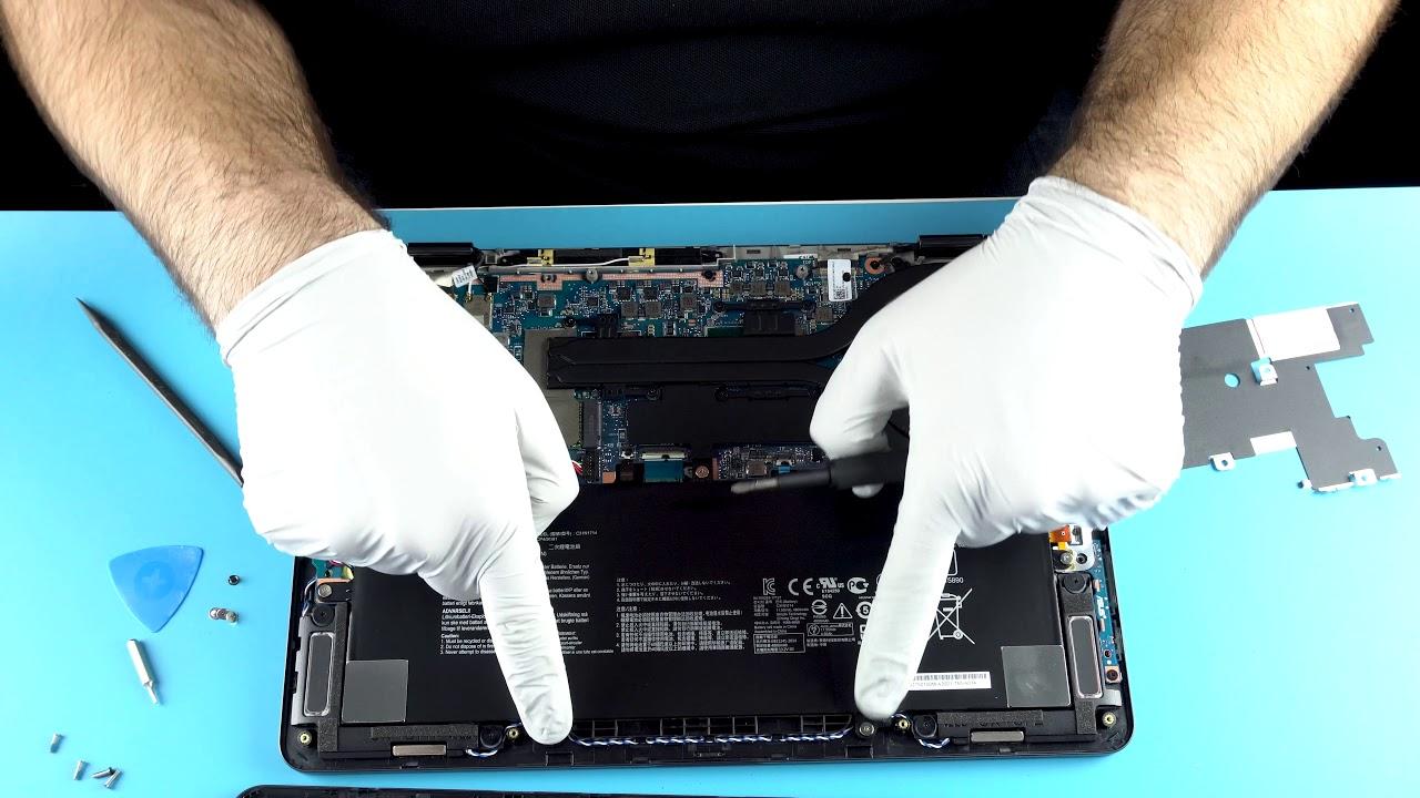 ASUS Zenbook Flip UX461U | How to Service, Upgrade & Fix Laptop (Teardown)