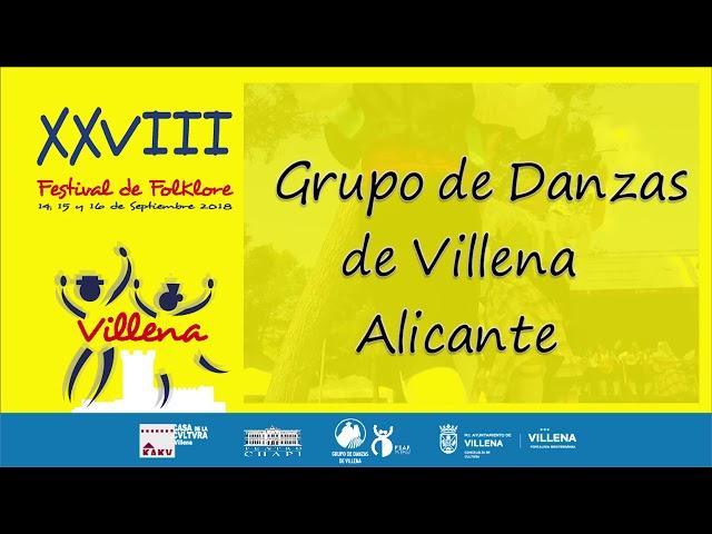 28 Festival de Folklore. Villena