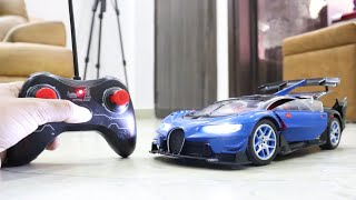 RC Bugatti Car Remote Control Kids Play with Toys | UNBOXING & TESTING ! !