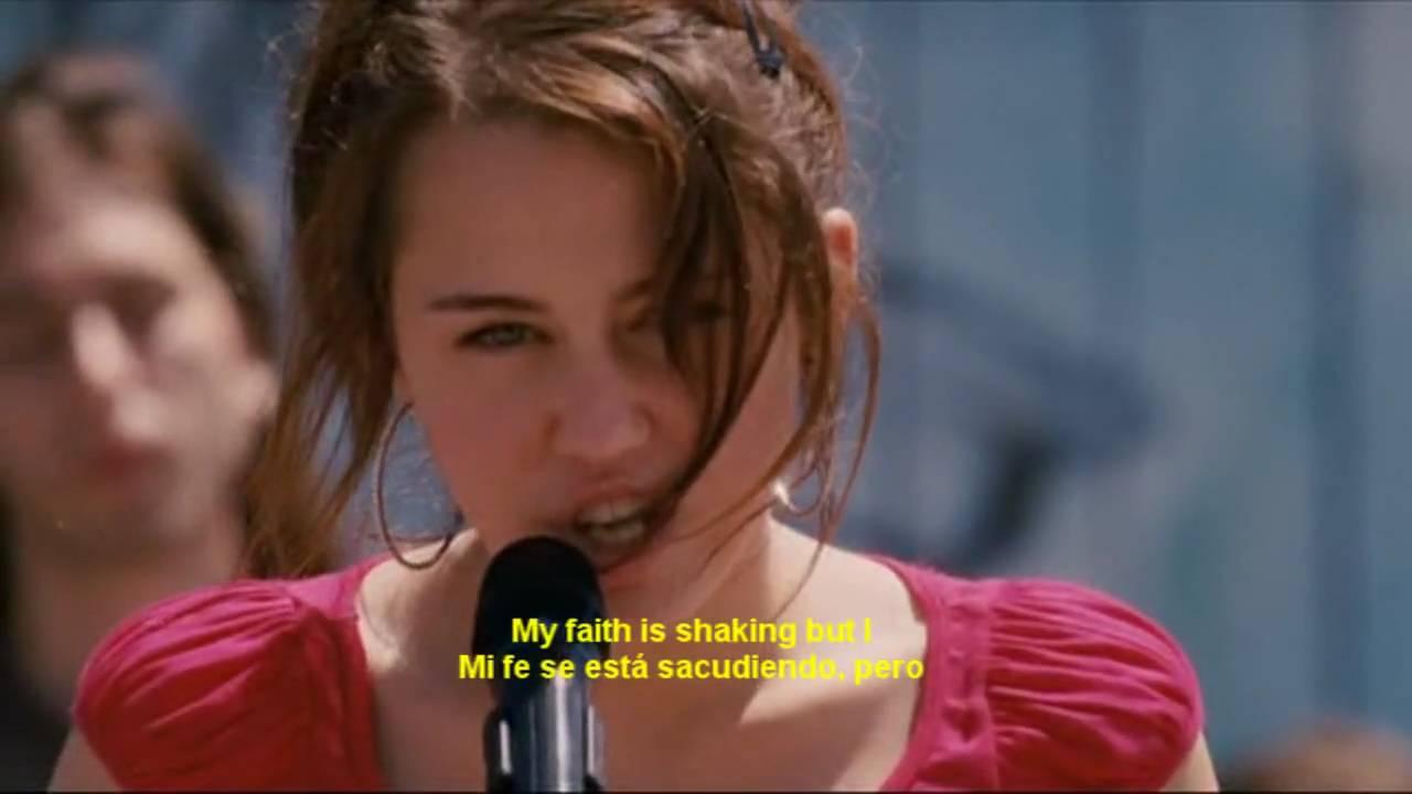 Hannah Montana Movie The Climb Clip Invincible Youth Season 1 Eng