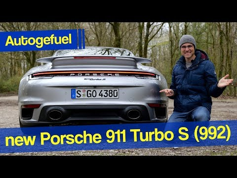 The Ultimate 911 In The New Generation: 2021 2020 Porsche 911 Turbo S REVIEW - Autogefuel